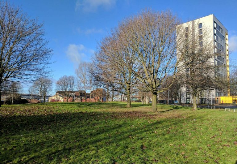 Volunteers transform Ancoats park to create community space for all residents